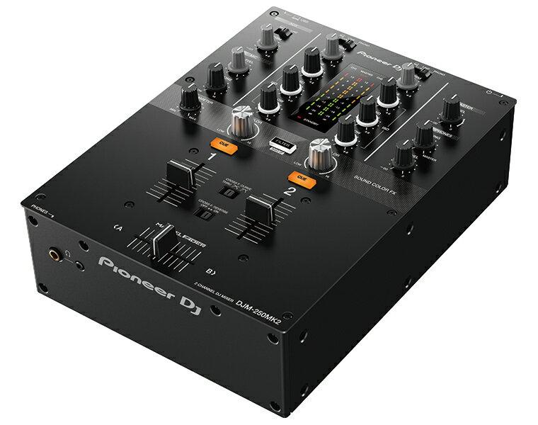 Pioneer DJ (パイオニア) / DJミキサー DJM-250MK2 【rekordbox dvs ラインセンスキー同梱】【国内正規取扱品】【送料無料】