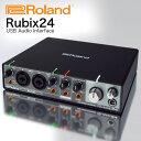 ROLAND オーディオインターフェイス Rubix24 (2in/4out) 送料無料