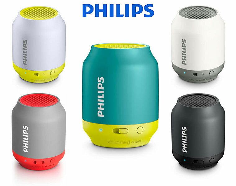PHILIPS / BT50 Bluetooth対応(ワイヤレスポータブルスピーカー) 連続再生約6時間【DZONE店】