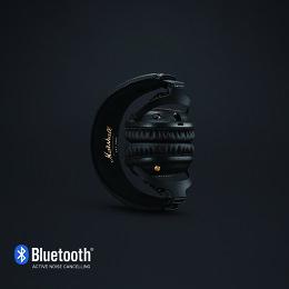 MarshallマーシャルMIDA.N.Cノイズキャンセリング付Bluetoothヘッドホン【国内正規品】【送料無料】
