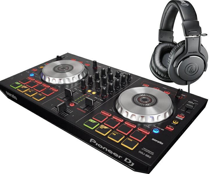 PIONEER DJコントローラーセット/DDJ-SB2 + ATH-M20X【送料無料】【DZONE】