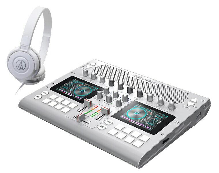 DJコントローラーセット JD Sound/GODJ Plus シルバー + ATH-S100 ホワイト【送料無料】