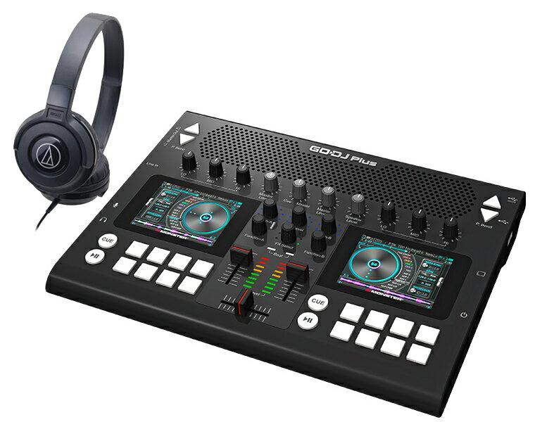 DJコントローラーセット JD Sound/GODJ Plus ブラック + ヘッドホン【送料無料】