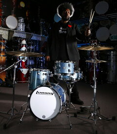"Ludwig(ラディック)ブレイクビーツ ドラムセット LC179X023 BREAKBEATS OUTFIT AZURE BLUE AHIMIR ""?UESTLOVE"" THOMPSON 小口径,人気機種"