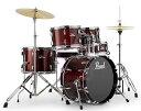 """送料無料!! Pearl(パール)ドラムセット コンパクトキット ROADSHOW COMPACT KIT 18"""",10,12""""14"""",SD13"""" ドラムマット…"""