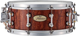"Pearl(パール)PHTV1455S/C フィルハーモニック ""PURE"" 《専用ハードケース付き》吹奏楽打楽器奏者用 コンサートスネアドラム"