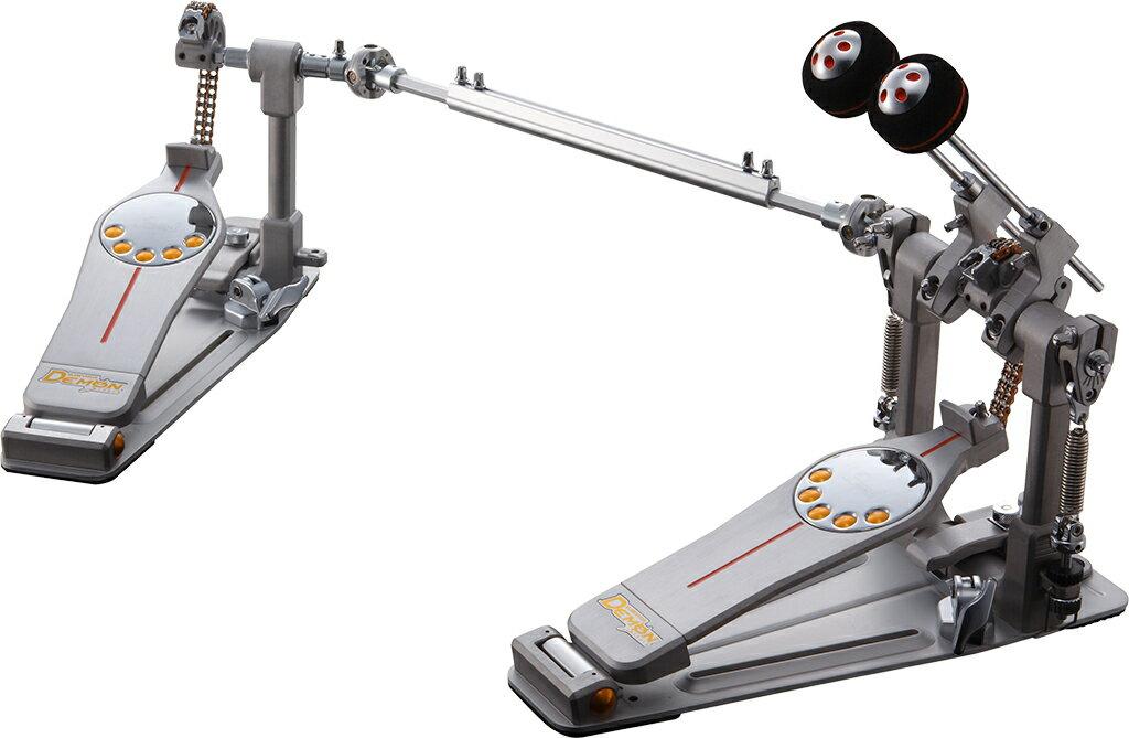 Pearl(パール)ツインペダル デーモンドライブ チェーンタイプ P-3002C【セミハードケース付】