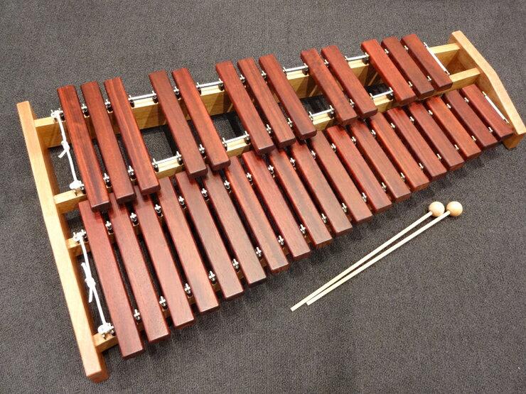 KOROGI(こおろぎ社)ECO32 卓上木琴 / シロフォン マレット1組付き