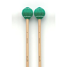 Sato(サトー)ビブラフォンマレット 綿糸巻き ミディアム(B玉)ST-MMB 緑