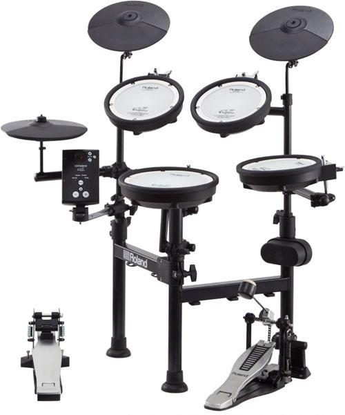 Roland(ローランド)電子ドラム TD-1KPX2 V-Drums Portable イス、シングルペダル、マット、ヘッドフォン、スティック付属 / 送料無料!! 入荷待ち