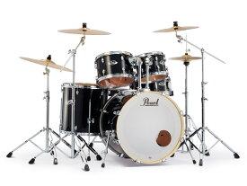Pearl(パール)EXX725S/C-2CSN #31 EXPORT EXX / エクスポート・2シンバル付き ドラムフルセット スタンダードサイズ(カラー:Jet Black ジェットブラック)