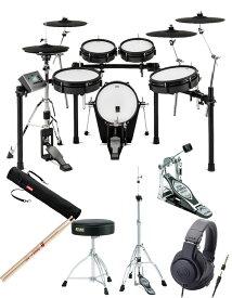 ATV EXS Series / EXS-5 自宅練習に最適 電子ドラム <イス、ペダル、ハイハットスタンド、スティック、スティックケース、ヘッドフォン付き>