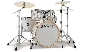 SONOR(ソナー)SN-AQ2SG / STAGE-WHP ステージ 22インチBDセット シェルのみ<ドラムセット>