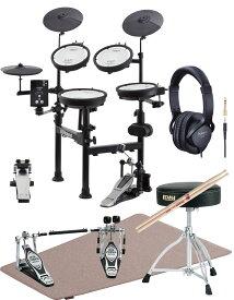 Roland(ローランド)電子ドラム TD-1KPX2 V-Drums Portable <オリジナルオプション イス、ツインペダル、マット、ヘッドフォン付属>入荷待ち・納期確認中