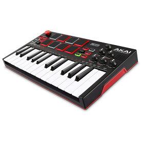 《アウトレット》AKAI スタンドアローン・MIDIキーボード MPK Mini Play【内蔵音源、電池駆動、スピーカー搭載】