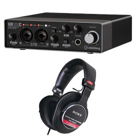Steinberg スタインバーグ USB3.0 オーディオインターフェイス UR22C + ヘッドホン MDR-CD900ST セット