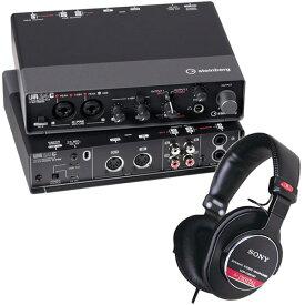 Steinberg オーディオインターフェイス UR24C + ヘッドホン MDR-CD900ST セット