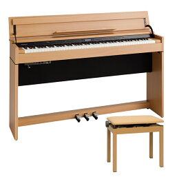 【アウトレット品/1台限り配送設置無料】Rolandコンパクト電子ピアノDP603-NBSナチュラルビーチ調電子ピアノ『専用高低自在椅子付属』専門配送業者が組立てお届けで安心