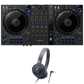 Pioneer DJコントローラー DDJ-FLX6 + ヘッドホン セット (rekordbox・Serato DJ Pro対応)