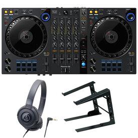 Pioneer DJコントローラー DDJ-FLX6 + ヘッドホン + PCスタンド セット (rekordbox・Serato DJ Pro対応)