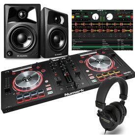 NUMARK DJコントローラー MIXTRACK PRO3 + ヘッドホン + スピーカー DJセット 送料無料