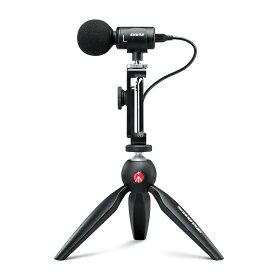 【国内正規品 / 2年保証】 SHURE コンデンサーマイク MOTIVシリーズ MV88+ VIDEO KIT (新パッケージ) ビデオキット 配信/クリエイター/ビデオグラファー