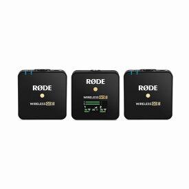 RODE WIRELESSGOII デュアルチャンネル対応の受信機と2台の送信機で構成されるワイヤレスマイクシステム WIGOII ワイヤレス ゴー II 【国内正規品】