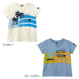 【アウトレット】ミキハウス ダブルビー mikihouse Tシャツ(110cm・120cm・130cm・140cm・150cm) 男の子 ss202106_3a