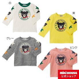 ミキハウス ダブルビー mikihouse Tシャツ(80cm・90cm・100cm)