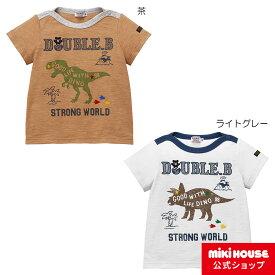 ミキハウス ダブルビー mikihouse Tシャツ(80cm・90cm・100cm) co202104_2b