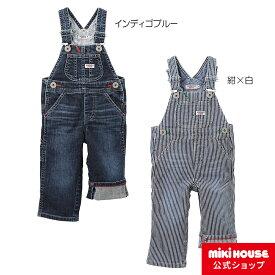 6a2c9972ae7f6 MIKIHOUSE(ミキハウス)☆ ダブルB デニム☆オーバーオール〈S-M(70cm