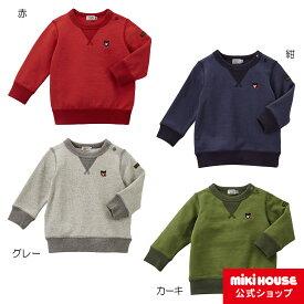 ミキハウス ダブルビー mikihouse Everyday DOUBLE_Bトレーナー(70cm-150cm) ベビー服 キッズ 子供服 こども 子供 女の子 男の子 長袖