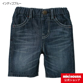 ミキハウス ダブルビー mikihouse Everyday DOUBLE_B6分丈デニムパンツ(70cm-150cm) ベビー 赤ちゃん 子供服 キッズ 男の子 女の子
