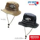 【ダブルB】日よけフラップ付きサファリハット(帽子)(48cm-56cm)