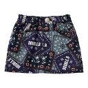 【ダブルB】ペイズリースカート〈M(120cm-130cm)〉