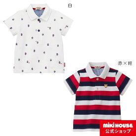 ミキハウス ホットビスケッツ mikihouse 半袖ポロシャツ(80cm・90cm・100cm・110cm・120cm) co202005_03