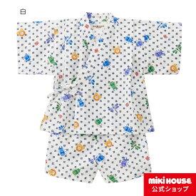 ミキハウス ホットビスケッツ mikihouse 甚平スーツ(80cm・90cm・100cm・110cm・120cm)