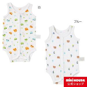 新着商品 ホットビスケッツ メッシュ素材のノースリーブボディシャツ(60cm・70cm)