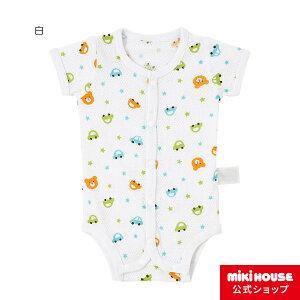 新着商品 ホットビスケッツ メッシュ素材の半袖ボディシャツ(60cm・70cm)