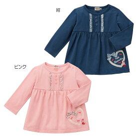 ミキハウス ホットビスケッツ mikihouse 長袖Tシャツ(80cm・90cm・100cm・110cm・120cm)