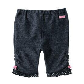 ミキハウス ホットビスケッツ mikihouse ドットフリル♪8分丈パンツ(120cm) キッズ 子供服 こども 子供 女の子 ボトムス