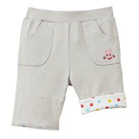 【アウトレット】ミキハウス ホットビスケッツ mikihouse キャビットちゃん6分丈パンツ(80cm・90cm) ベビー 赤ちゃん ベビー服 女の子