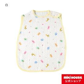 ミキハウス ホットビスケッツ mikihouse 六重織ガーゼの総柄スリーパー ベビー キッズ ベビー用品 赤ちゃん 子供 こども 日本製 ギフト お祝い プレゼント
