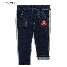 【アウトレット】ミキハウス ホットビスケッツ mikihouse 異素材のやわらかパンツ(80cm-120cm) ベビー 赤ちゃん ベビー服 キッズ 子供 男の子