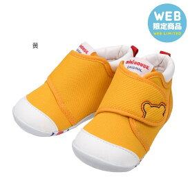 【WEB LIMITED】【送料無料】ミキハウス mikihouse *★ファースト シューズ★*(11.5cm-13.5cm) ベビー 赤ちゃん 男の子 女の子 靴 プレゼント 出産祝い