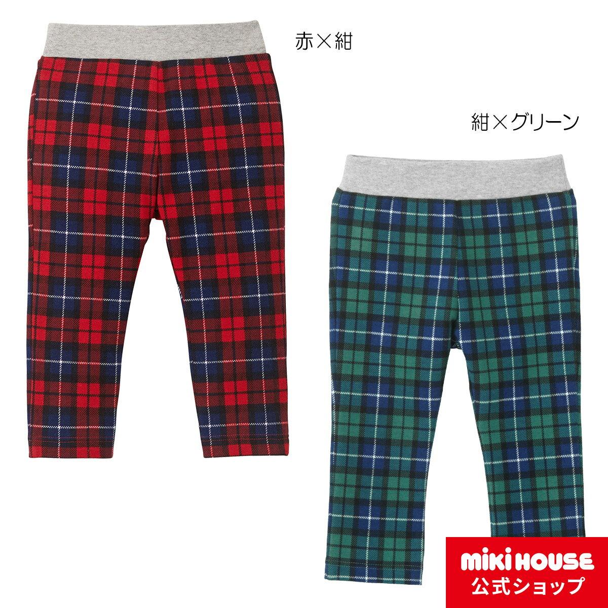 ミキハウス mikihouse Every Day mikihouse 総柄プリントパンツ(80cm-130cm)