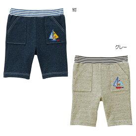 3ad56d69cf6c1 ミキハウス mikihouse マリンプッチー 天竺素材の6分丈パンツ(120cm) キッズ 子供
