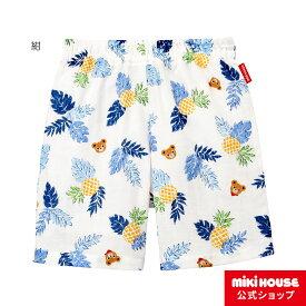 ミキハウス mikihouse プッチー トロピカル柄リラックスパンツ〈SS-M(70cm-120cm)〉 ベビー服 キッズ 子供服 こども 男の子 ボトムス