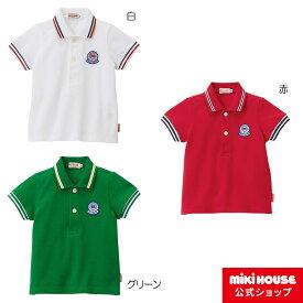 ミキハウス mikihouse ポロシャツ(80cm・90cm・100cm・110cm・120cm・130cm・140cm・150cm) ベビー服 キッズ 子供服 こども 男の子 女の子 トップス 半袖 co202103_4a