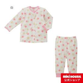 ミキハウス mikihouse 長袖パジャマ(80cm-120cm) ベビー ベビー服 女の子 キッズ 子供服 子ども